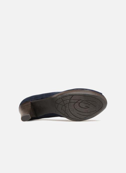 Zapatos de tacón Marco Tozzi Wose Azul vista de arriba