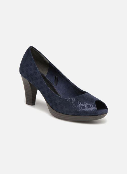 Zapatos de tacón Marco Tozzi Wose Azul vista de detalle / par