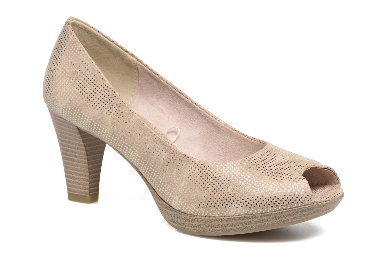 Zapatos de tacón Marco Tozzi Wose Oro y bronce vista de detalle / par