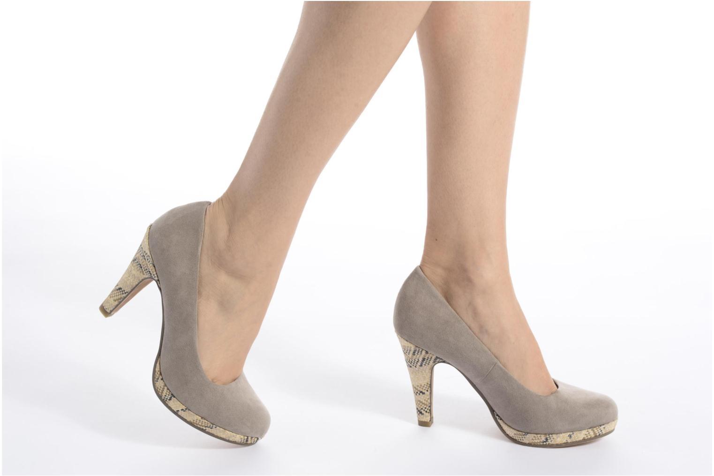 Zapatos de tacón Marco Tozzi Blôme Negro vista de abajo