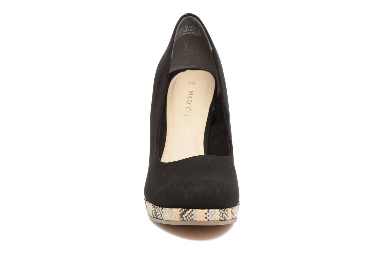 Zapatos de tacón Marco Tozzi Blôme Negro vista del modelo