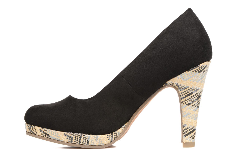 Zapatos de tacón Marco Tozzi Blôme Negro vista de frente