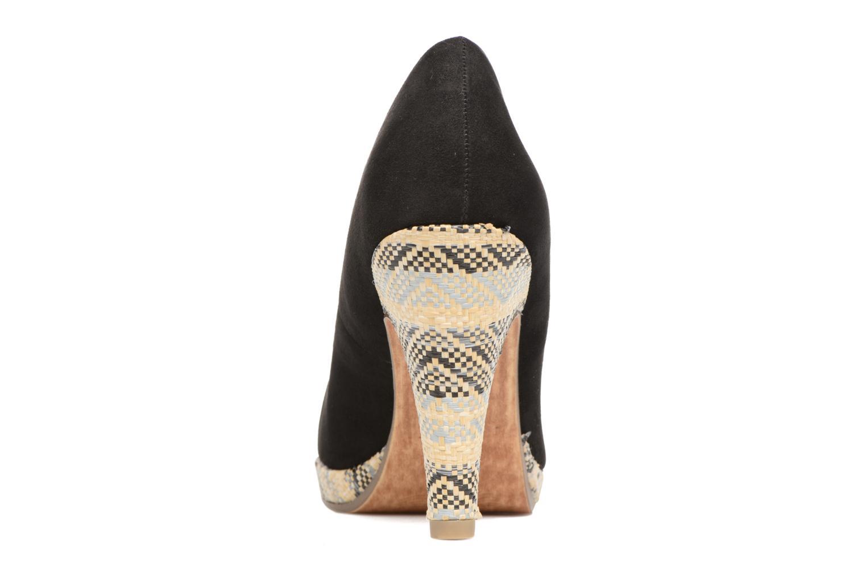 Zapatos de tacón Marco Tozzi Blôme Negro vista lateral derecha