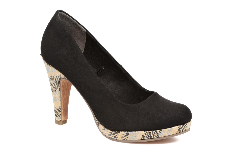 Zapatos de tacón Marco Tozzi Blôme Negro vista de detalle / par
