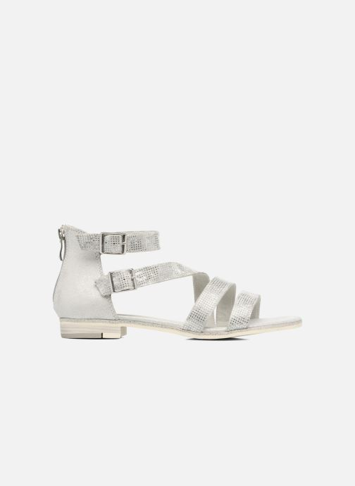 Sandals Marco Tozzi Meko Silver back view