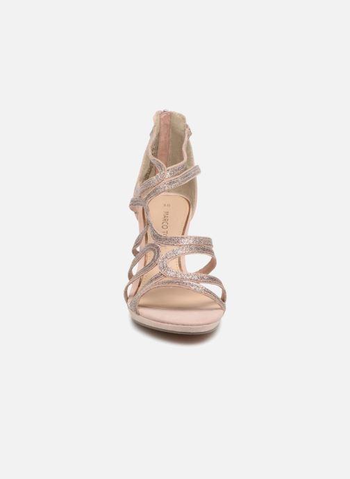 Sandales et nu-pieds Marco Tozzi Samo Rose vue portées chaussures