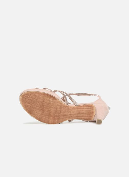 Sandales et nu-pieds Marco Tozzi Samo Rose vue haut