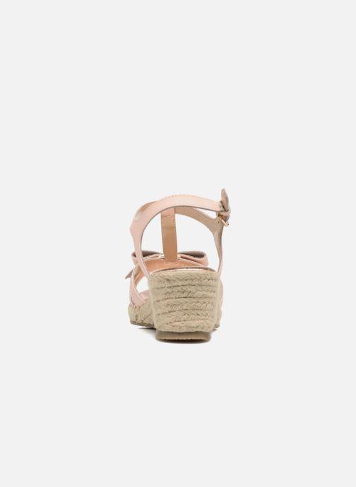 Sandali e scarpe aperte Michael Michael Kors Zia-Cate Alexa Rosa immagine destra