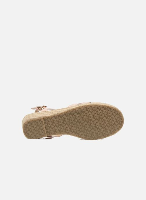 Sandales et nu-pieds Michael Michael Kors Zia-Cate Alexa Rose vue haut