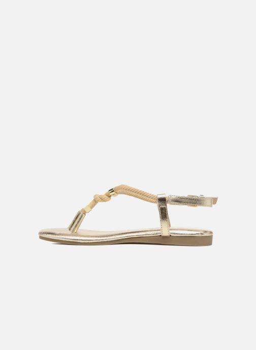 Sandali e scarpe aperte Michael Michael Kors Zia-Demi Holly Oro e bronzo immagine frontale