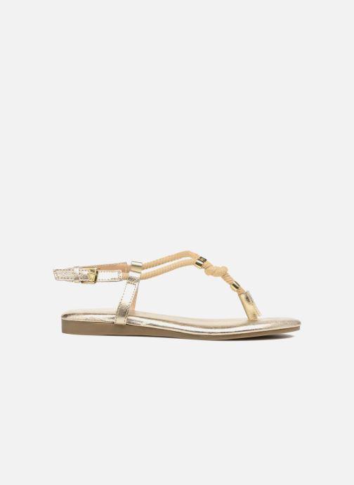 Sandales et nu-pieds Michael Michael Kors Zia-Demi Holly Or et bronze vue derrière