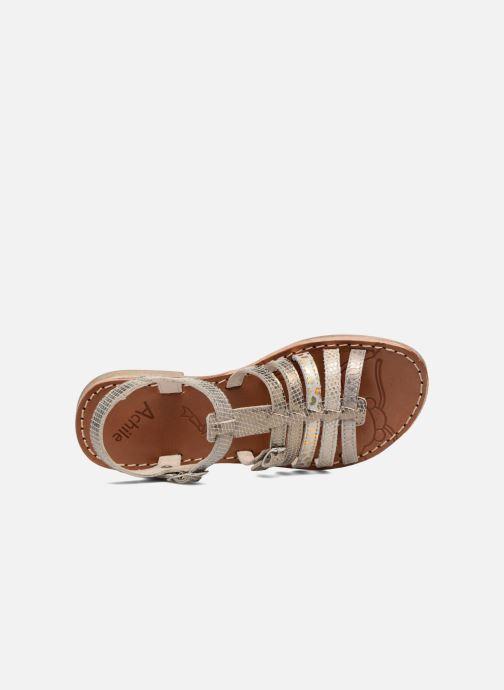 Sandales et nu-pieds Achile Bangkok Or et bronze vue gauche