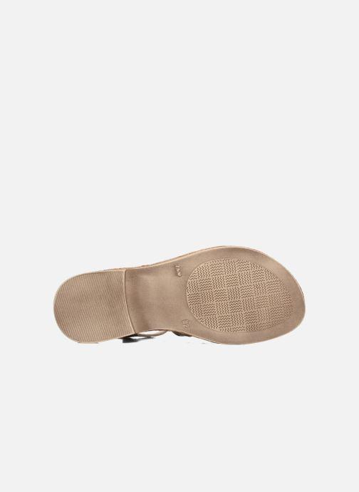 Sandales et nu-pieds Achile Bangkok Or et bronze vue haut