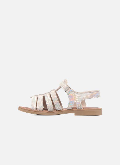 Sandales et nu-pieds Achile Katagami Argent vue face
