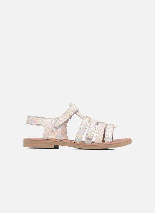 Sandales et nu-pieds Achile Katagami Argent vue derrière