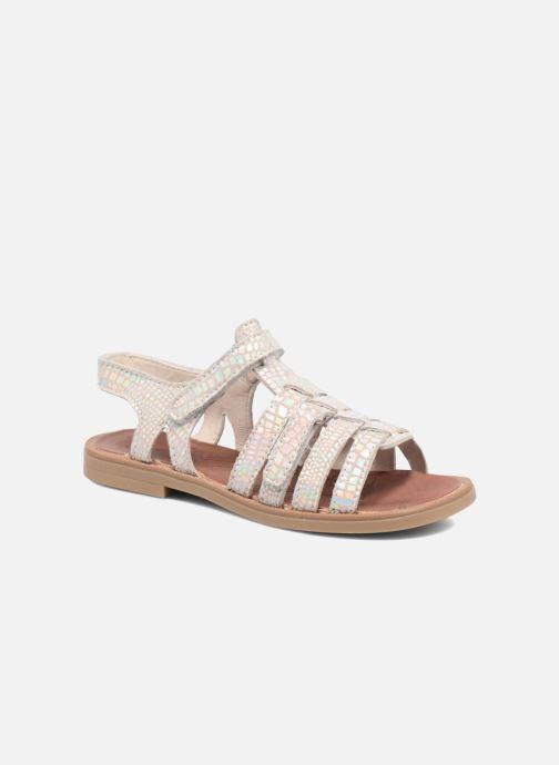 Sandales et nu-pieds Achile Katagami Argent vue détail/paire