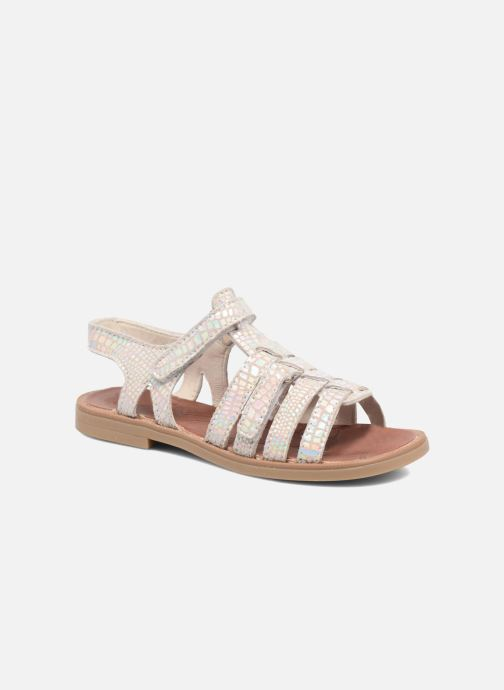 Sandaler Achile Katagami Sølv detaljeret billede af skoene