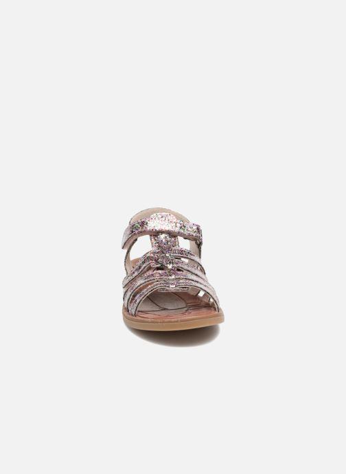 Sandales et nu-pieds Achile Katagami Multicolore vue portées chaussures