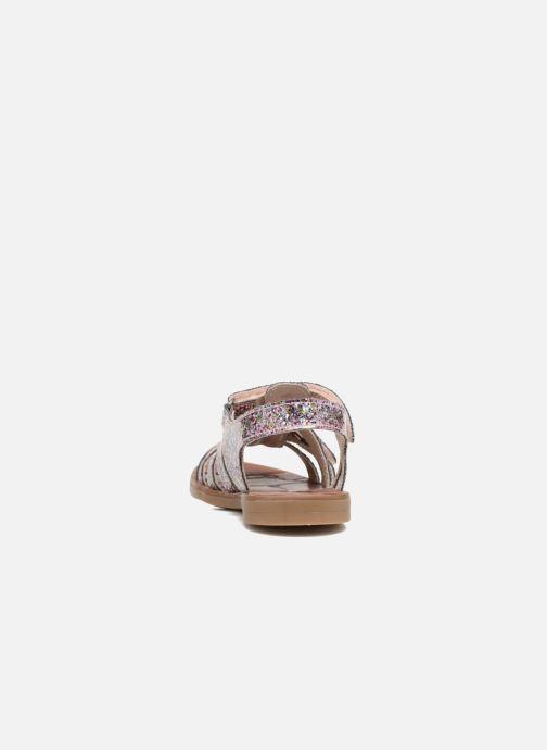 Sandales et nu-pieds Achile Katagami Multicolore vue droite