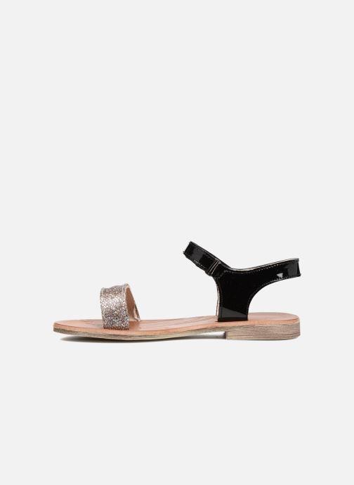 Sandals Achile Komaki Black front view