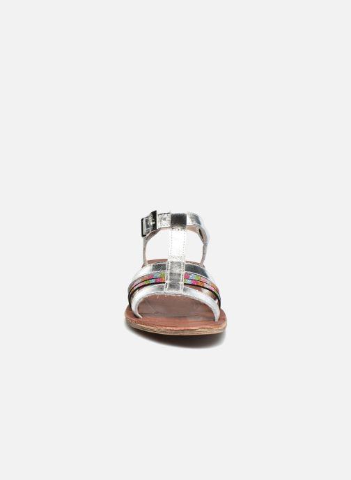 Sandales et nu-pieds Achile Kimitsu Argent vue portées chaussures