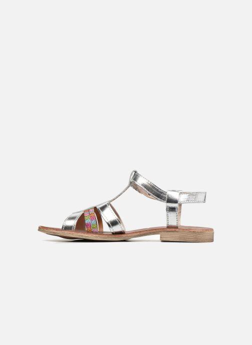 Sandales et nu-pieds Achile Kimitsu Argent vue face