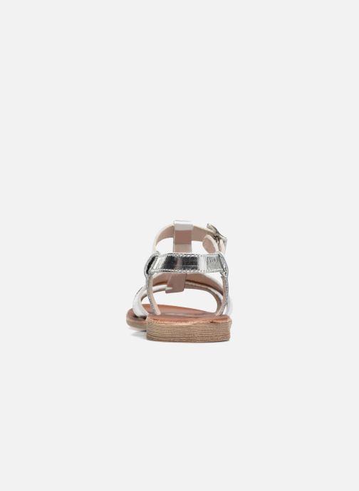 Sandales et nu-pieds Achile Kimitsu Argent vue droite