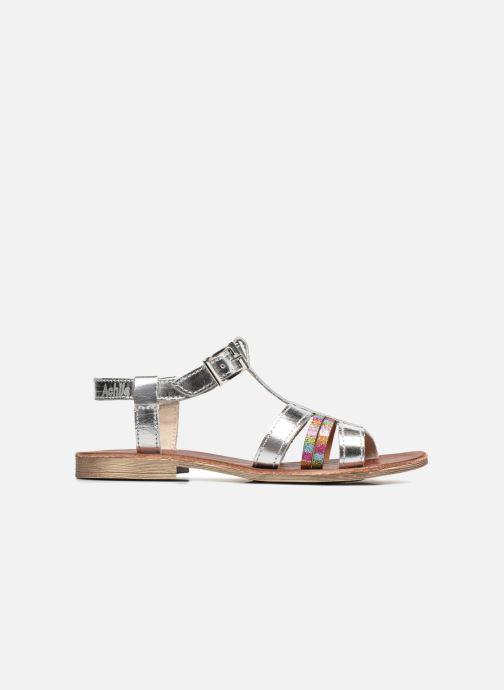 Sandales et nu-pieds Achile Kimitsu Argent vue derrière