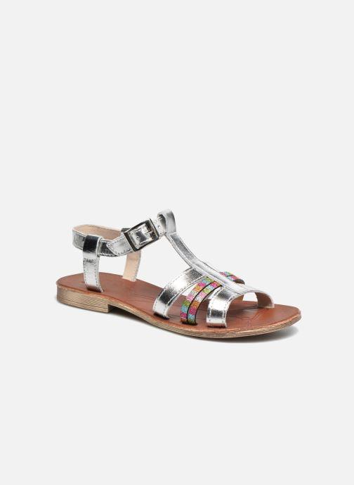 Sandales et nu-pieds Achile Kimitsu Argent vue détail/paire