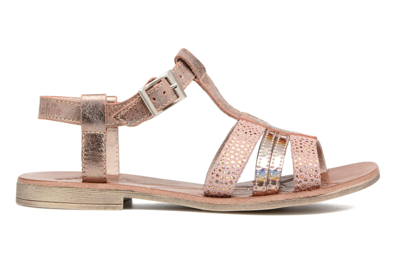 Sandalen Achile Kimitsu Roze achterkant