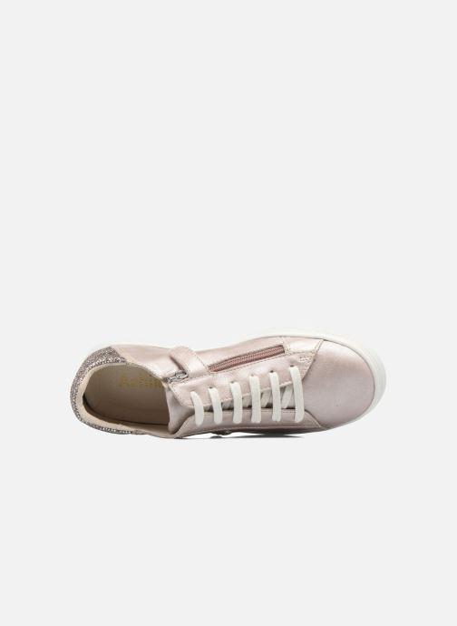 Sneaker Achile Paula rosa ansicht von links