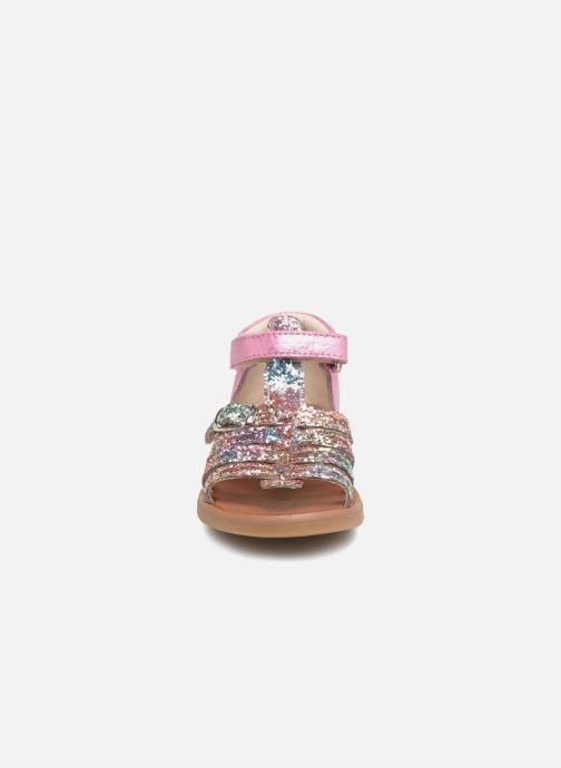 Sandales et nu-pieds GBB Philippine Multicolore vue portées chaussures