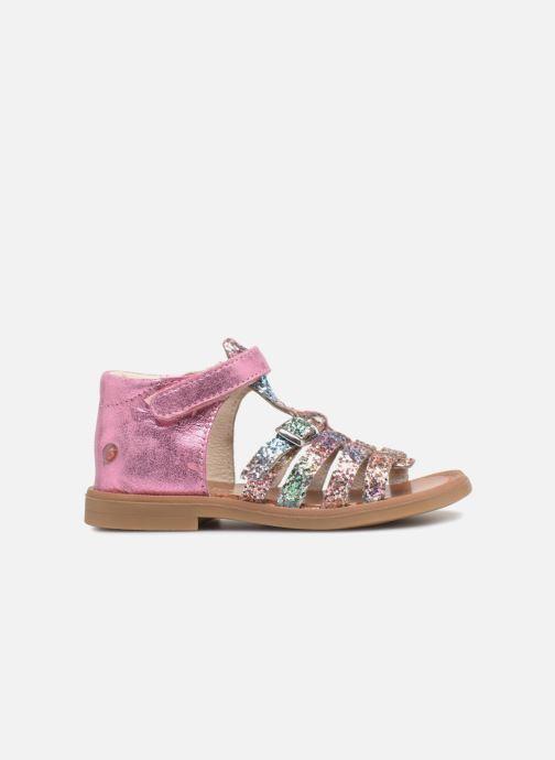 Sandales et nu-pieds GBB Philippine Multicolore vue derrière