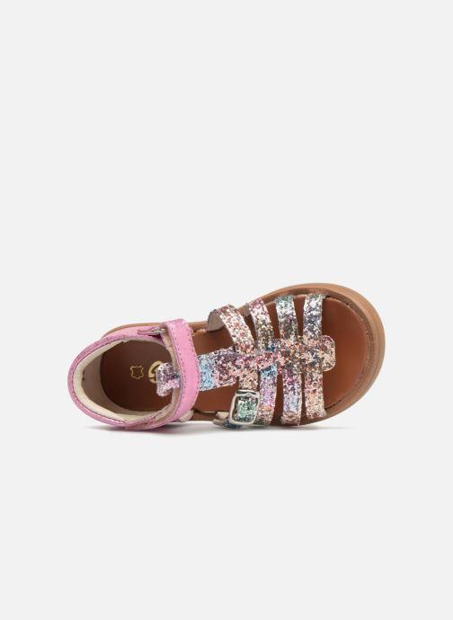 Sandales et nu-pieds GBB Philippine Multicolore vue gauche