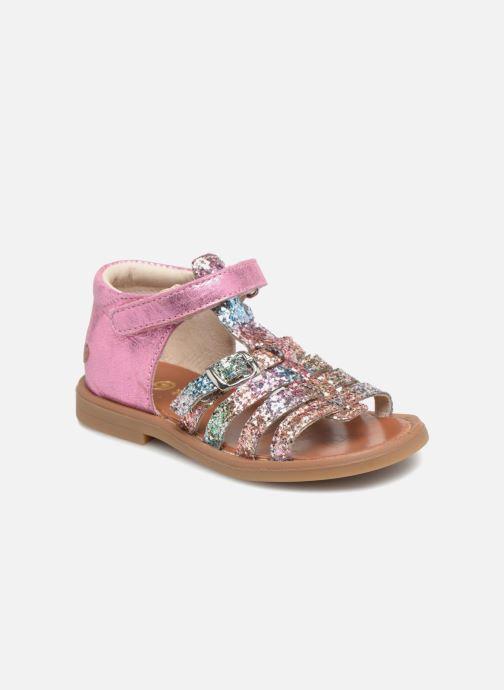 Sandales et nu-pieds GBB Philippine Multicolore vue détail/paire
