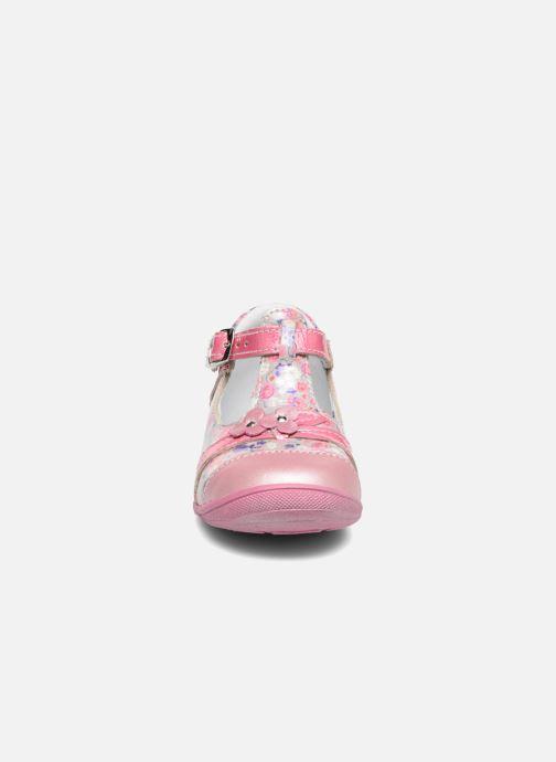 Ballerines GBB Pilar Rose vue portées chaussures