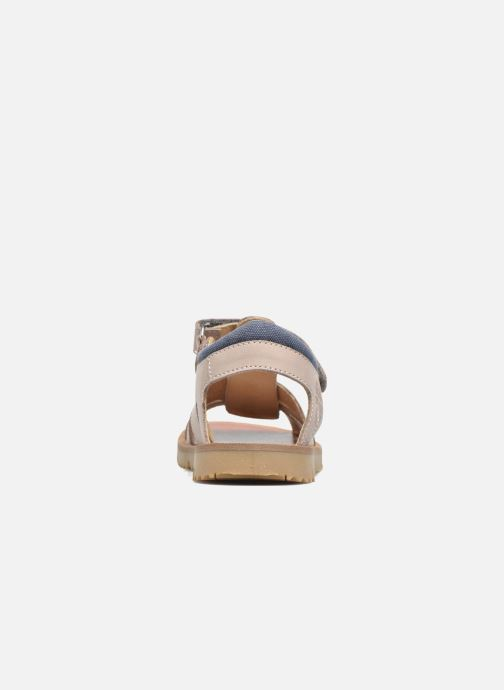 Sandals GBB Pathe Grey view from the right