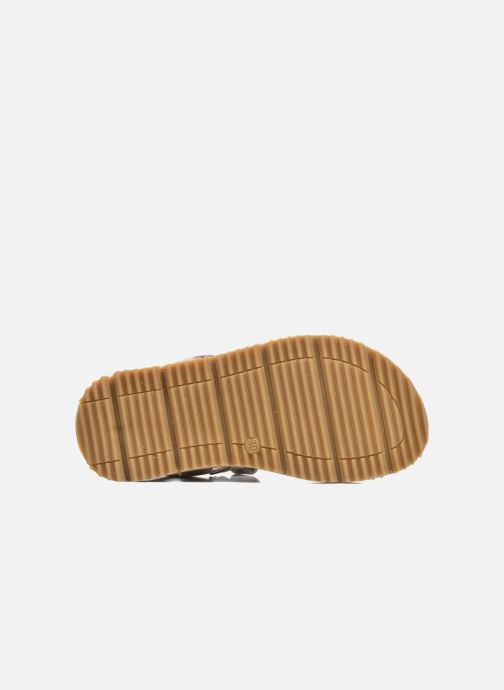 Sandales et nu-pieds GBB Pathe Gris vue haut