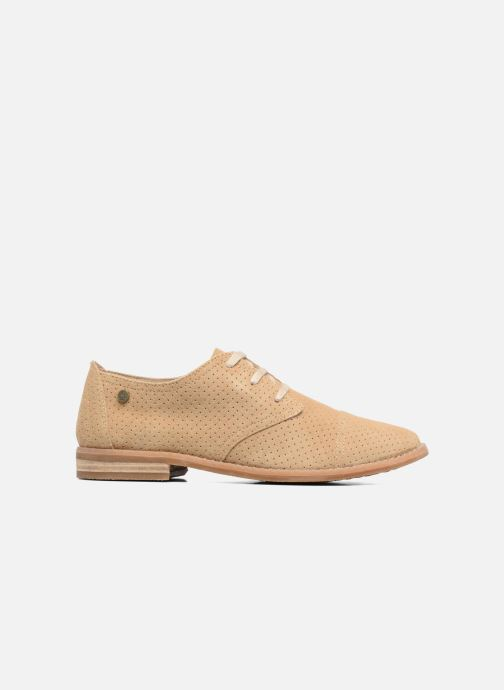 Lace-up shoes Hush Puppies Aiden Beige back view