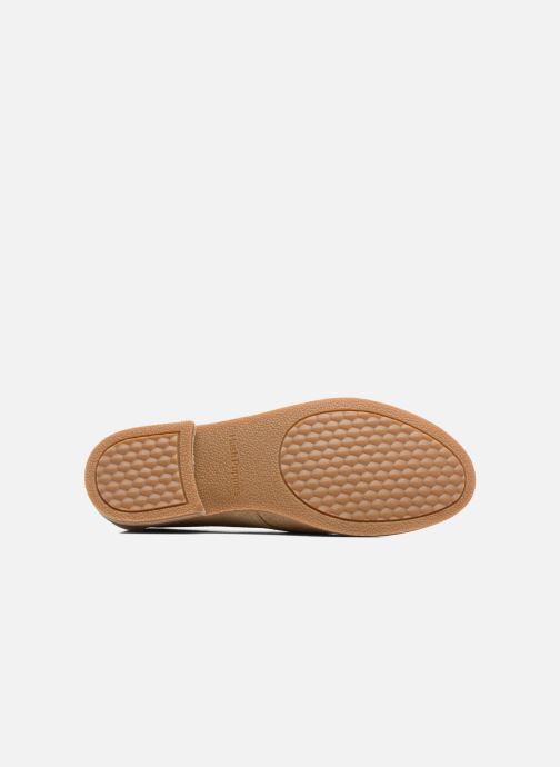 Lace-up shoes Hush Puppies Aiden Beige view from above