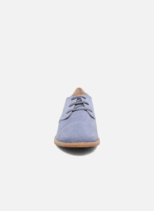 Chaussures à lacets Hush Puppies Aiden Bleu vue portées chaussures