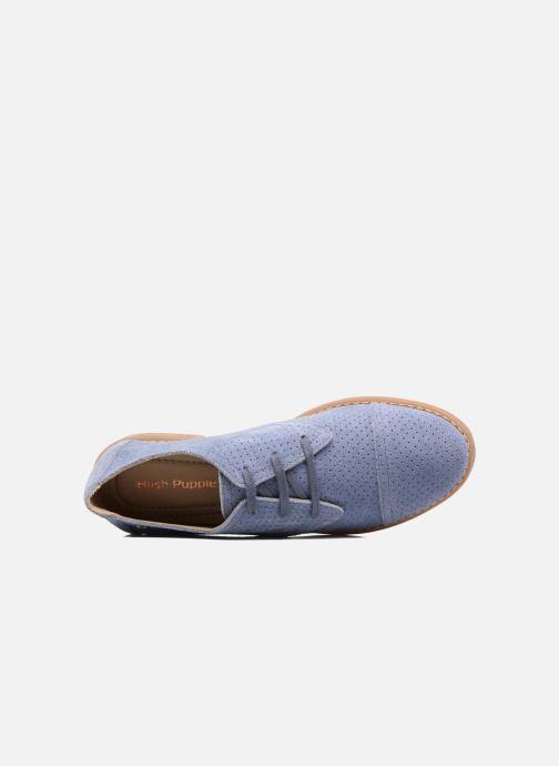 Chaussures à lacets Hush Puppies Aiden Bleu vue gauche