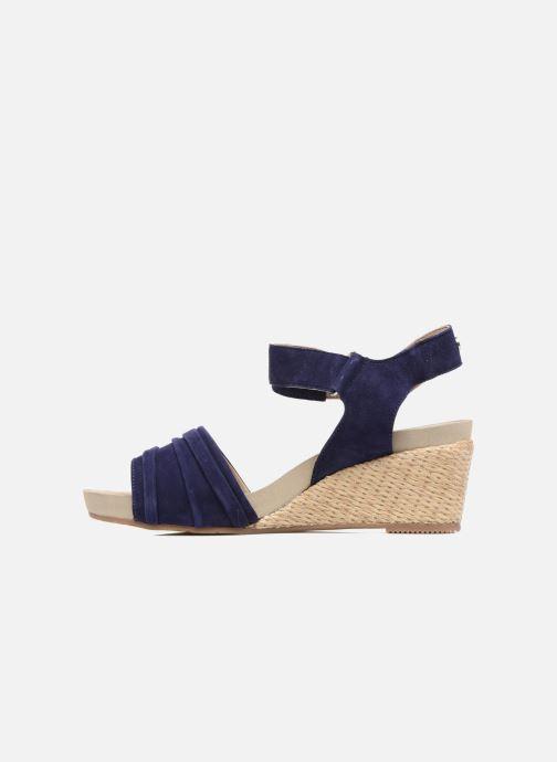 Sandales et nu-pieds Hush Puppies Eivee Bleu vue face
