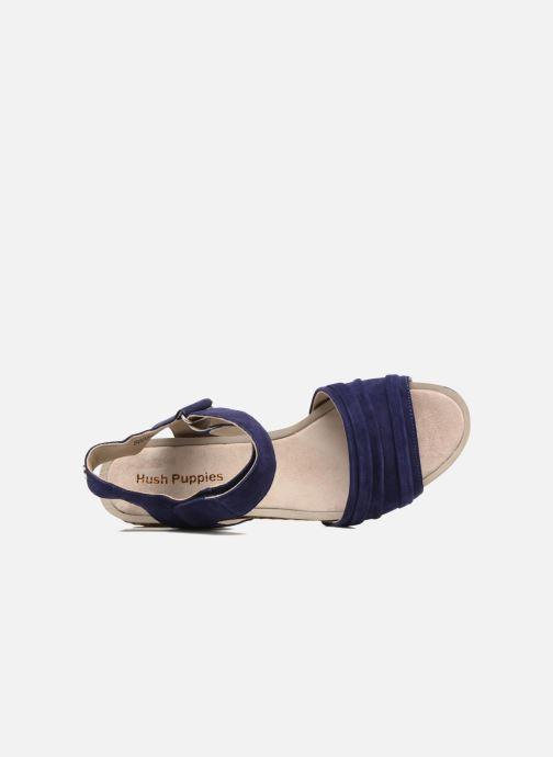 Sandales et nu-pieds Hush Puppies Eivee Bleu vue gauche