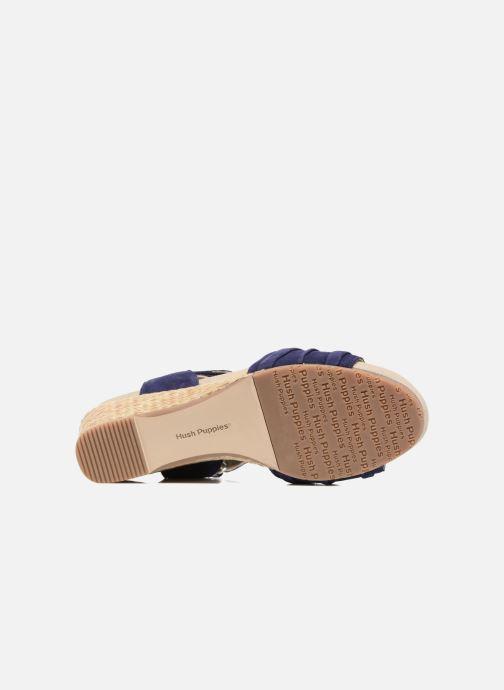 Sandales et nu-pieds Hush Puppies Eivee Bleu vue haut