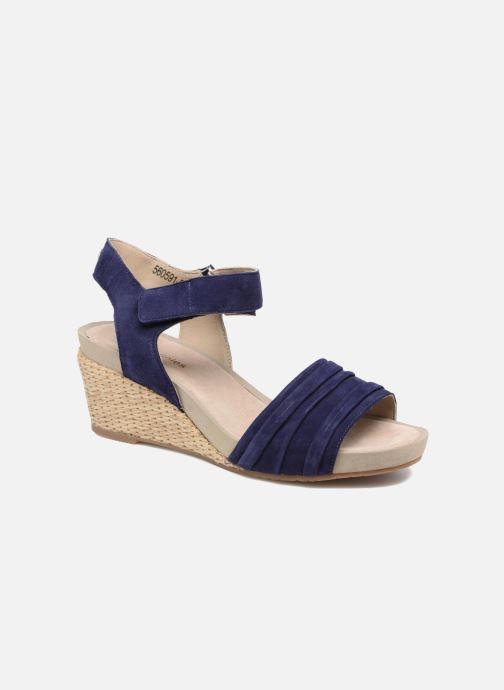 Sandales et nu-pieds Hush Puppies Eivee Bleu vue détail/paire