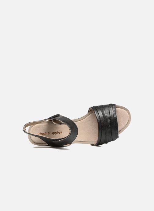 Sandales et nu-pieds Hush Puppies Eivee Noir vue gauche