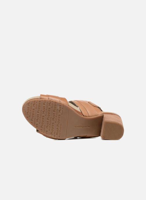 Sandales et nu-pieds Hush Puppies Leonie Marron vue haut
