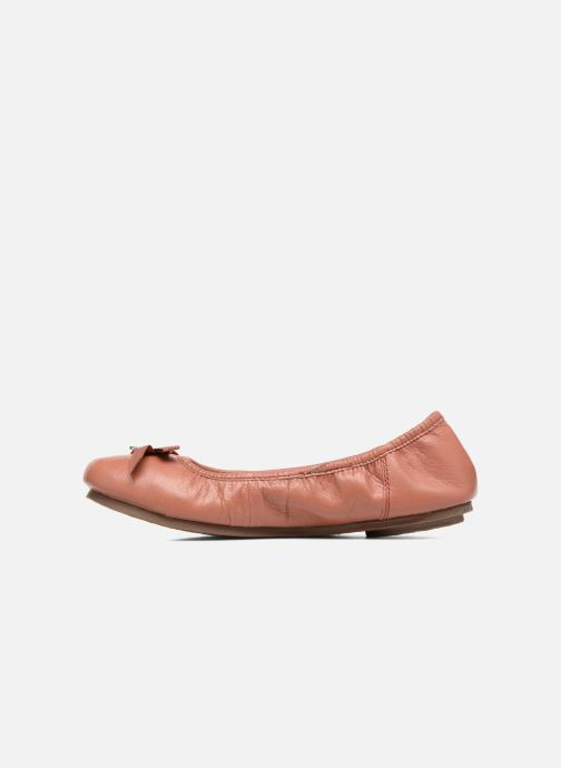 Ballerines Hush Puppies Lilas Rose vue face