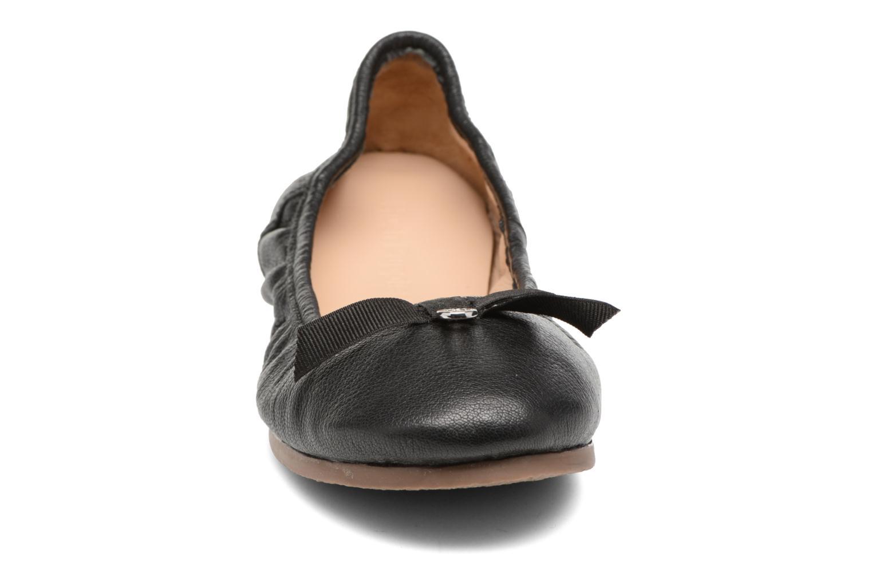 Ballerina's Hush Puppies Lilas Zwart model